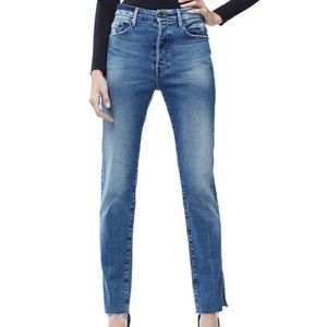 Good American High Rise Star Embellished Jeans